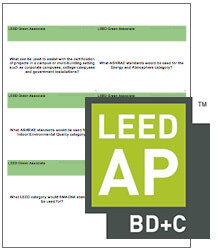 LEED BD+C Flash Cards