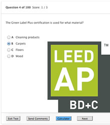 LEED AP BD+C Practice Tests