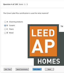 LEED Homes Practice Tests
